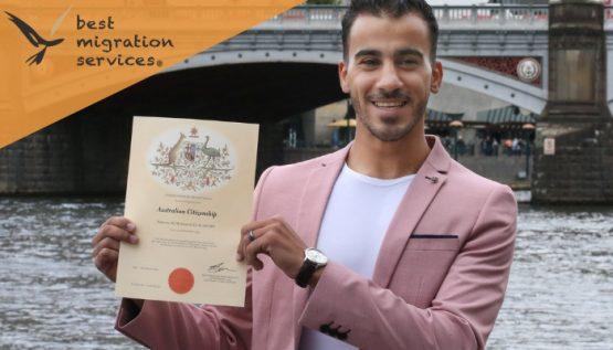 BMS - Refugee footballer Hakeem al-Araibi becomes an Australian citizen