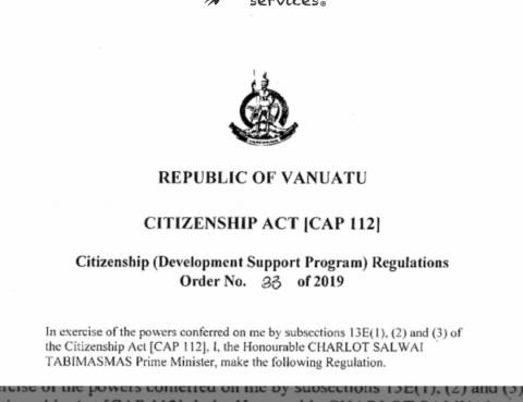 BMS - News in Vanuatu