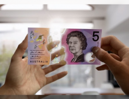 Australia, inventor of safe plastic money 1