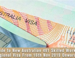 Guide to New Australian 491 Skilled Work Regional Visa From 16th Nov 2019 Onwards 13