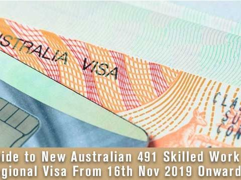 Guide to New Australian 491 Skilled Work Regional Visa From 16th Nov 2019 Onwards 8